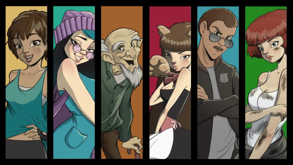 Diseño de personajes para juego